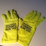 tunnelloppet gula handskar